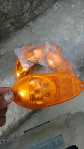 Lanternas lateral e pisca em led 12 e 24 wolt