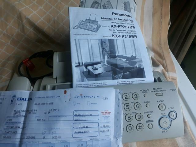 tel e fax panasonic kx fp207 br udio tv v deo e fotografia cj rh sp olx com br Panasonic Kx TG Base Panasonic Kx Instruction Manual