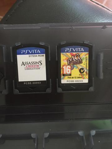 Vendo jogos de Ps Vita ou troco por controle Xbox S