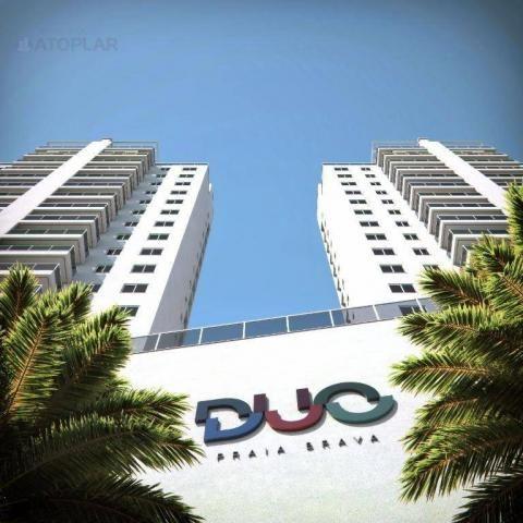 Apartamento com 3 dormitórios sendo 01 suíte à venda, 88 m² por r$ 563.813 - praia brava -