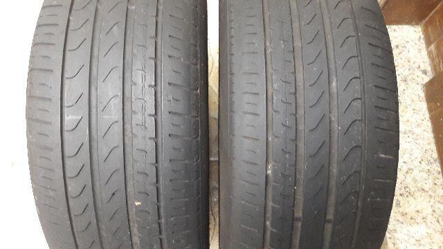 Dois pneus pirelli 225/50 17 P7