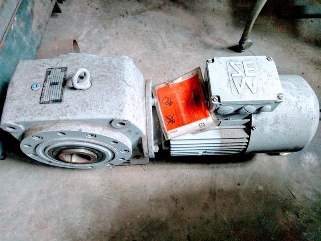 Motoredutor com freio