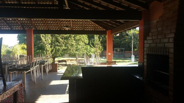 Alugo Sitio: Piscina|Campo Futebol\ Churrasqueira\ Qd. de Voley Ponte Alta - Gama - Foto 5