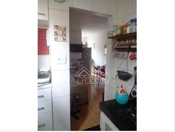 Apartamento com 1 dormitório à venda, 50 m² por R$ 302.100,00 - Icaraí - Niterói/RJ - Foto 13