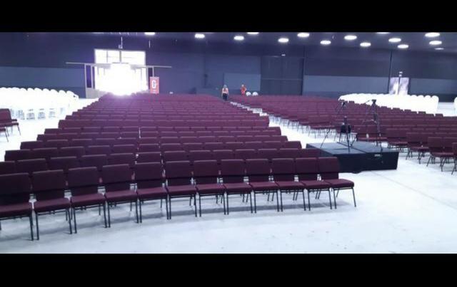 Cadeira para igreja e Auditorio