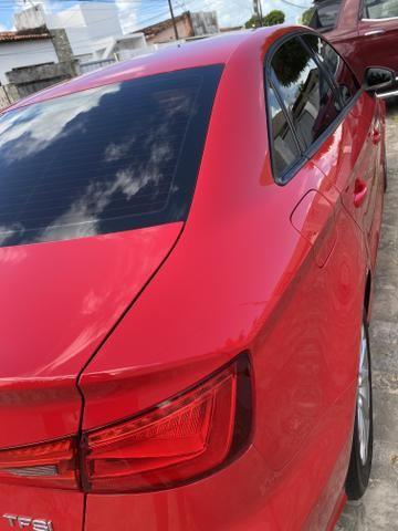 Audi A3 1.4 top de verdade super econômico VERMELHO FERRARI desconto de R$ 6.900 - Foto 12
