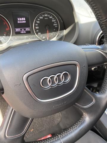 Audi A3 1.4 top de verdade super econômico VERMELHO FERRARI desconto de R$ 6.900 - Foto 7