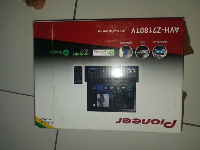 DVD pioner AVH Z7180 TV o top da pioner por 1500,00 oportunidade - Foto 2