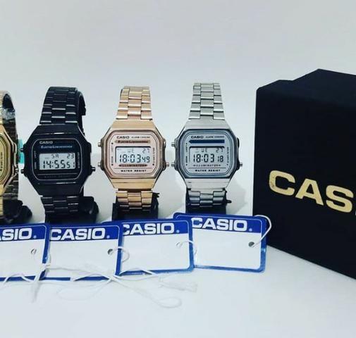 3a834f7ad89 Relógio de Pulso Casio Vintage - Analógico  Digital - Bijouterias ...
