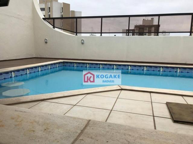 Cobertura à venda, 360 m² por r$ 1.700.000,00 - vila adyana - são josé dos campos/sp - Foto 19
