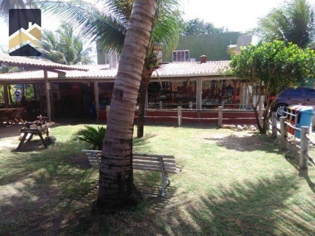 CA1559 Restaurante montado, terreno com 3.021m² e 1.600m² construído. Sabiaguaba