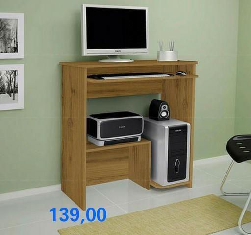 Mesa para PC Iris - Entrega Imediata - - Foto 2