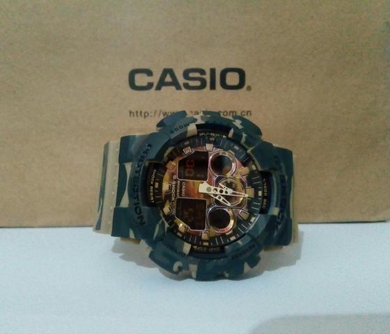 d95f7cf3cd5 Casio G-Shock GA-100CM Camuflado - Bijouterias
