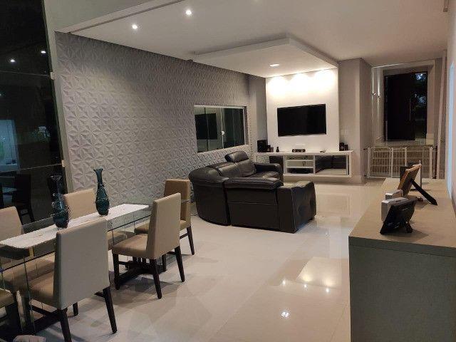 Excelente casa no Alphaville Litoral Norte II - 318 m² - 4/4 sendo 3 suítes - Casa nova - Foto 10