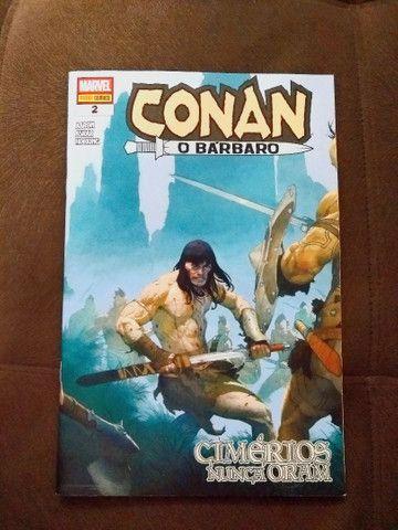 """Revistas em quadrinhos (HQs) do """"Conan, o bárbaro"""" - Foto 4"""