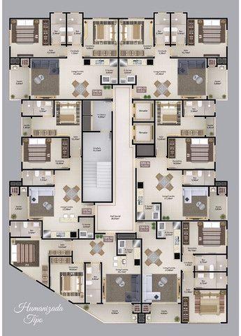 Apartamento em Itapema com 02 dorms, sendo 01 suíte à 300m mar, Parcelado!!! Morretes - Foto 4