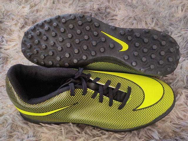 Chuteiras society Adidas/Nike