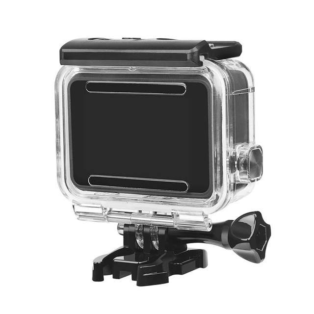 GoPro assessórios case estanque Hero 7 6 5 acrílico transferente - Foto 2