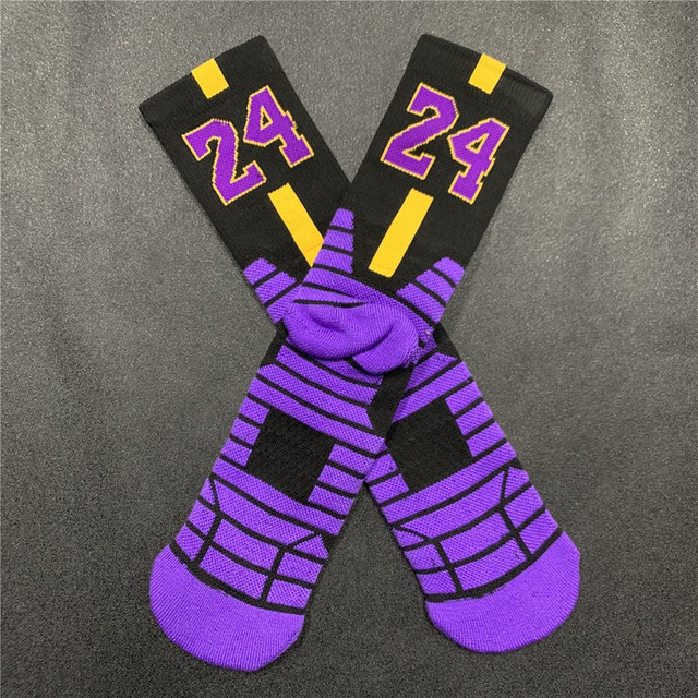 Meias Nike Kobe Bryant Black Mamba Los Angeles Lakers - Foto 2