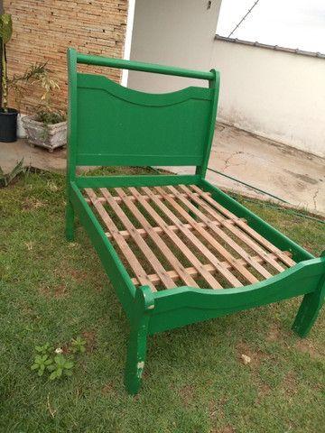 Espreguiçadeira de madeira personalizada - Foto 2