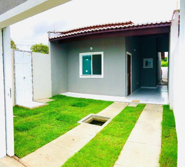 DP casa nova com 2 quartos 2 banheiros a 10 minutos de messejana - Foto 14