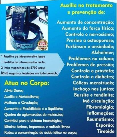 Pulseira Magnética Alivia dores - CMN - Foto 5