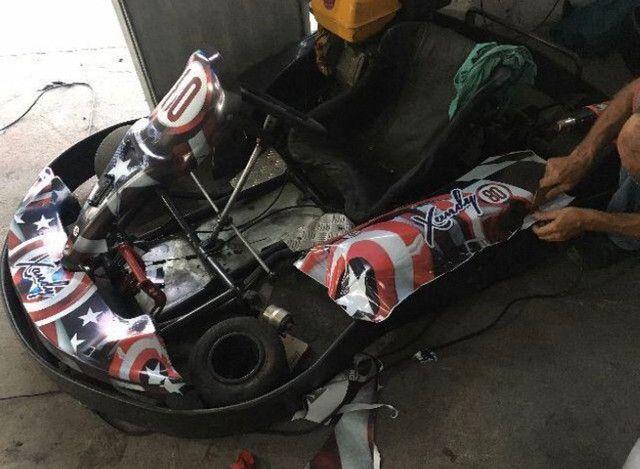 Kart Indoor 13HP chassis metalmoro - Foto 3