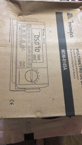 Multímetro Digital de Bancada Minipa c/ manual e N/F - Foto 6
