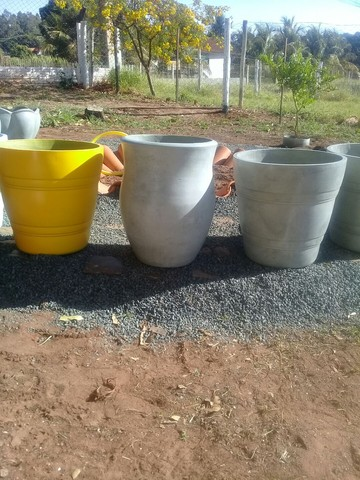 Vasos de cimento - Foto 5