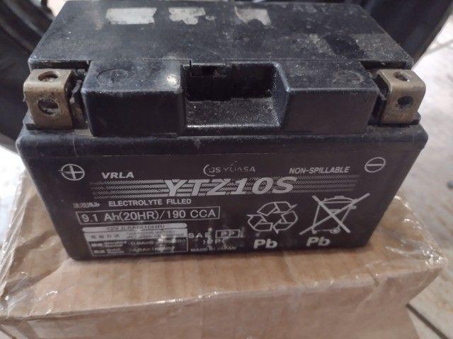 bateria para moto yuasa japonês 12v.  - Foto 2