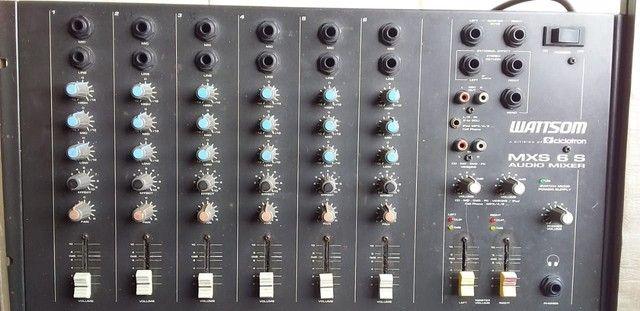Mesa de som 6 canais - Foto 2