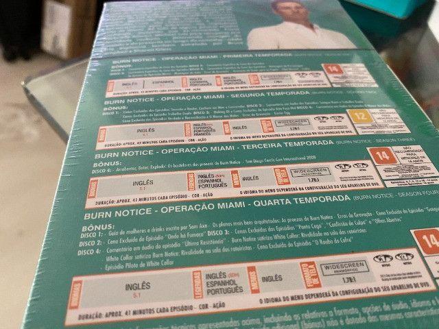 Coleção Burn Notice - Operação Miami - 4 Temporadas Completas, Zero e Lacrado - Foto 6