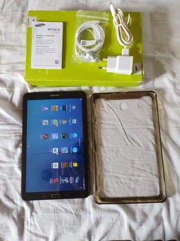 "Tablet Samsung conservado Galaxy Tab E 9,6"" preto"
