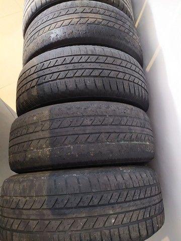 Jogo de rodas com pneus originais LAND ROVER Discovery Sport aro 18' - Foto 3
