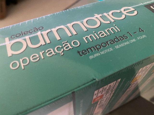 Coleção Burn Notice - Operação Miami - 4 Temporadas Completas, Zero e Lacrado - Foto 5