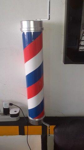 Barberpole. ( poste para barbearias.meu whats * - Foto 3