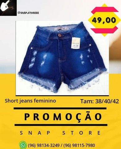 Shorts jeans - Foto 3