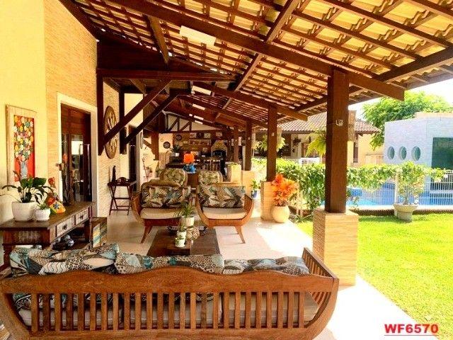 Vila Morrena, casa duplex com terreno duplo, 3 quartos, piscina, 6 vagas, Eusébio - Foto 4