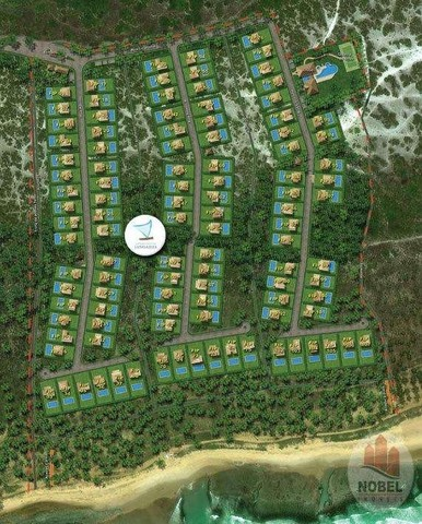 Condomínio Praia das Jangadas - Praia do Forte - Terrenos de 630 m² e 800 m² - Beira Mar - - Foto 10