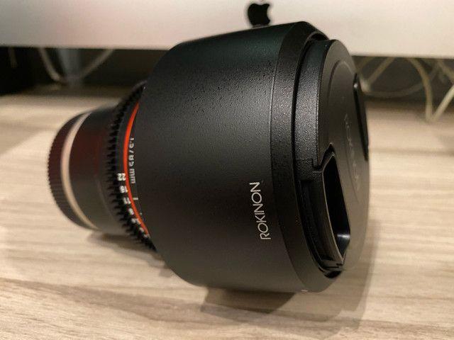 Lente Rokinon 85mm T1.5 cine para Sony - Foto 2