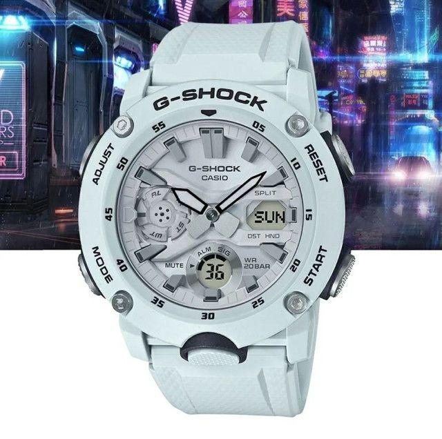 Relógio G-Shock GA-2000S-7ADR Carbon Core Guard nas cores Preto ou Branco<br><br> - Foto 2