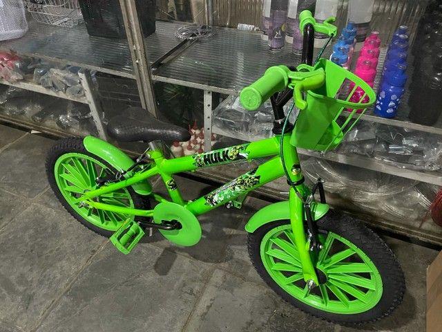 Bicicleta Infantil Incrível Hulk Aro 16 - Foto 5