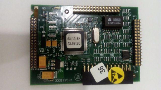 Placa Ethernet Pabx Impacta 94 140 220 Intelbras