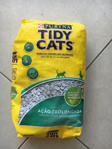 Areia Sanitária Purina Tidy Cats 2kg