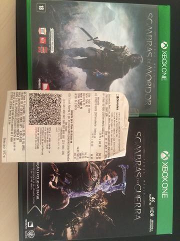 Senhor dos Anéis Xbox One
