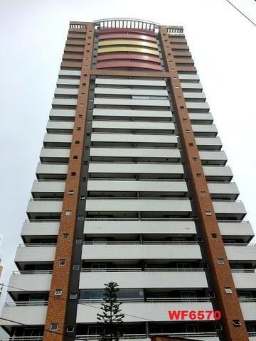 AP0967 Torre Espanha, apartamento na Aldeota, 3 suítes, móveis projetados, 2 vagas