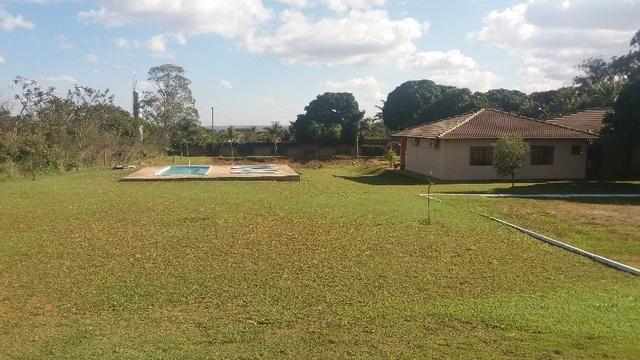 Alugo Sitio: Piscina|Campo Futebol\ Churrasqueira\ Qd. de Voley Ponte Alta - Gama - Foto 2