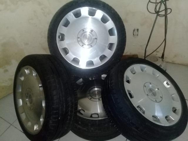 04 Jantes NV12 Com pneus aro 17