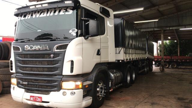 Scania g420 Bitrem randon - Foto 3
