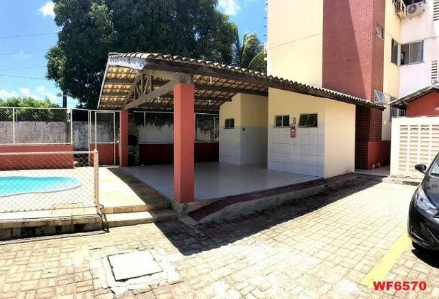 AP1351 Residencial Uirapuru, alugo apartamento com 3 quartos, próximo arena Castelão - Foto 2
